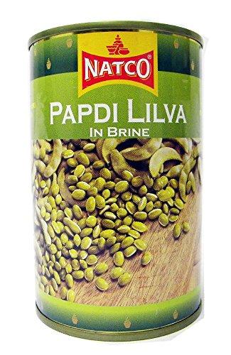 Natco - Papdi Lilva (Gruene Erbsen) in Salzlake - 400g x 2 Doppelpack