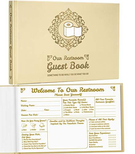 Maad Bathroom Guest Book