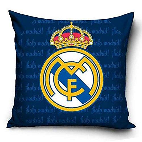 Real Madrid FC - Cojín del club (Tamaño Único) (Azul)