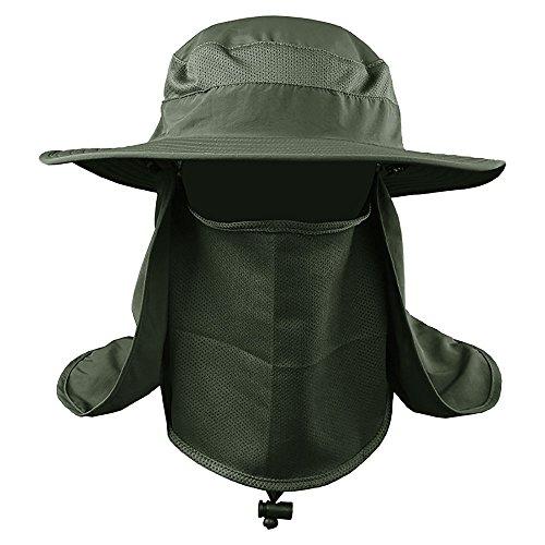 VANKER Senderismo Pesca Sombrero Deportes al Aire Libre Sol Protección UV Cara para Mujeres Hombres