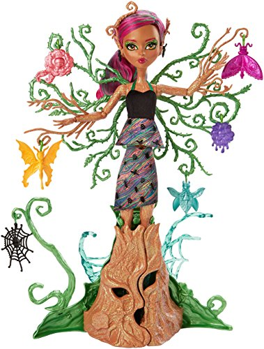 Mattel Monster High FCV59, mostramica del Giardino Treesa Thornwillow