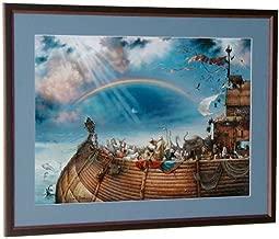 Tom duBois The Promise Hand Signed by The Artist MATTED & Framed Noah's Ark Art
