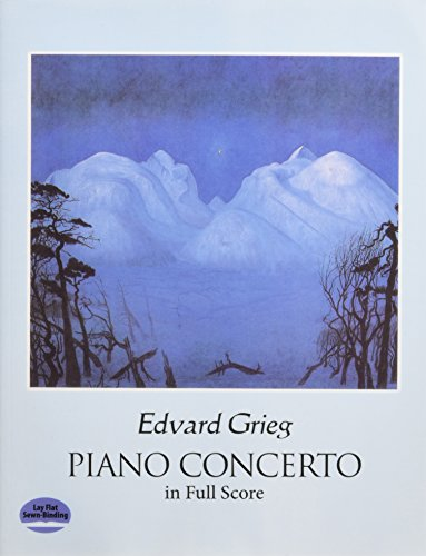 Piano Concerto in Full Score (Dover Music Scores)