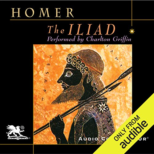 The Iliad                   By:                                                                                                                                 Homer,                                                                                        Richmond Lattimore - translator                               Narrated by:                                                                                                                                 Charlton Griffin                      Length: 22 hrs and 6 mins     468 ratings     Overall 4.3