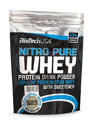 Biotech USA - Nitro Pure WHEY - 454g Beutel Erdbeere