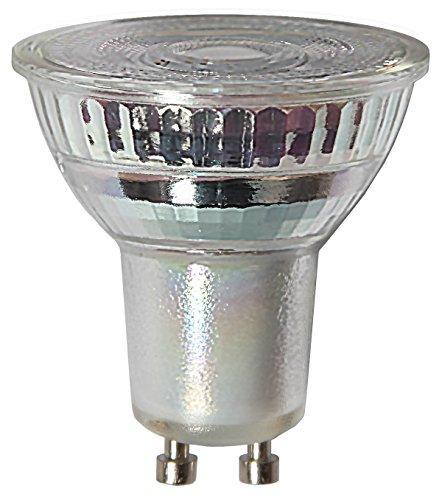 Star LED-lampen glas GU10, 3 W, transparant 5 x 5,5 x 5 cm