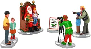 Lemax Village Collection Photos with Santa, Set of 5 #22032