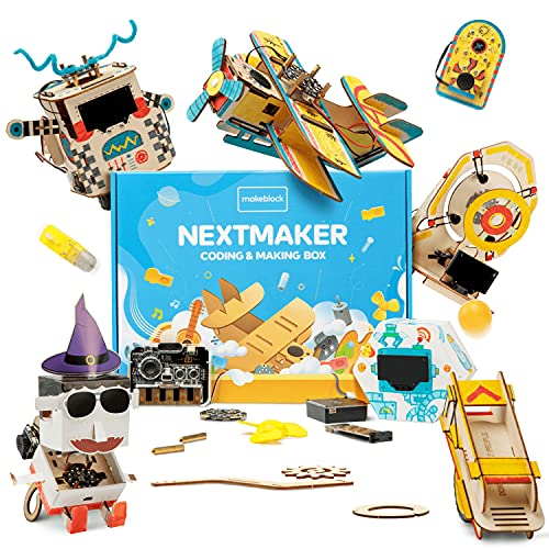 Makeblock NextMaker Coding Kit, Educational Programming Learning Science Kit, STEAM Toys for Kids, Box 1