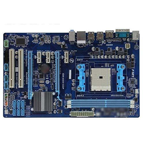 Compatible con GIGABYTE GA-A55-S3P Desktop Motherboard A75 Socket FM1 para A8 A6 A4 E2 32G ATX A55-S3P Mainboard Gaming Motherboard