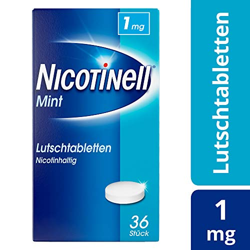nicotinell lutschtabletten 1 mg mint 36 St