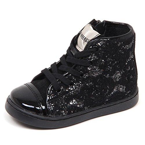 BIKKEMBERGS E4096 Sneaker Bimba Tissue Scarpe Glitter Shoe Kid Baby Girl [21]