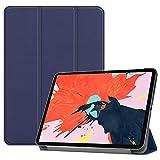 fitmore Funda Compatible para iPad Pro 11 Inch 2020, Ultra Slim Flip Carcasa de PU Cuero Case...