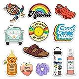 Lulu London - Cute Adventure VSCO Girl Stickers for Hydro Flask, Water Bottles