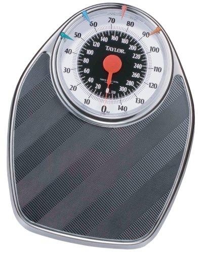 Taylor 1350SM Mechanical Scale with Pound-Kilo Dial, Chrome