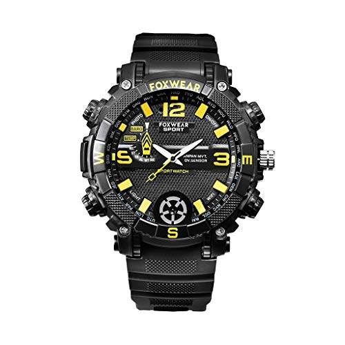William-Lee Nieuwe FOX9 Oplaadbare Smart 720PHD HD Camera Horloge Voice Video USB WiFi Recorder LED Licht MP3 Speler Opname Sport Camera Horloge Apparaat, met 1 Data Kabel