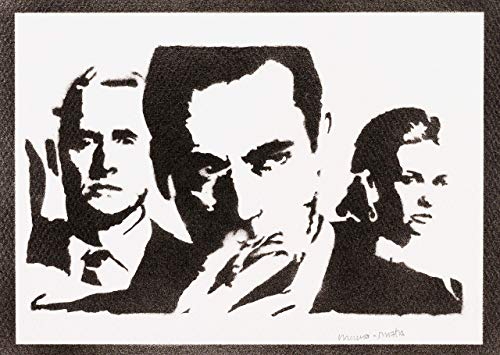 Mad Men Poster Plakat Handmade Graffiti Street Art - Artwork