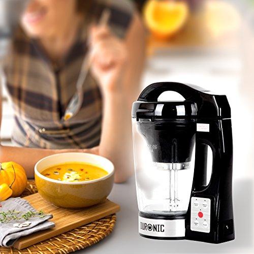 Duronic BL78 elektrischer Standmixer/Suppenbereiter / Babynahrungszubereiter/Thermalmixer und Kochmixer mit 1,2L Glasbehälter – Suppe auf Knopfdruck kreiert - 7