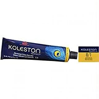 Wella Koleston Perfect Permanent Creme Haircolor 1: 8/1 Light Blonde/ash, 0.3 Oz