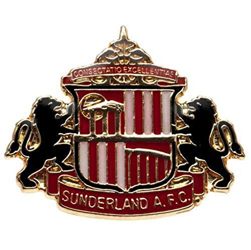 Sunderland Unisex Crest Pin Badge, Multicolore