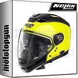 NOLAN CASCO MOTO CROSSOVER N70-2 GT HI-VISIBILITY 022 XXXL