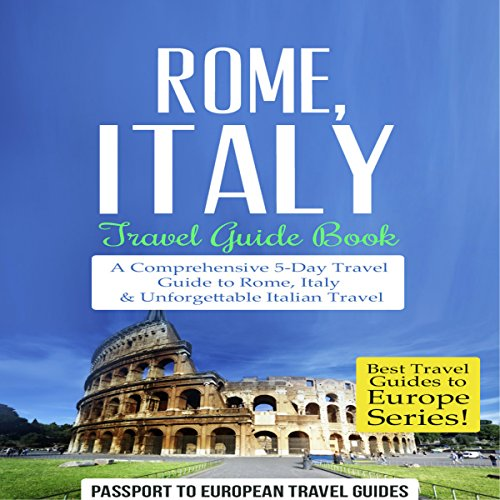 Rome, Italy: Travel Guide Book audiobook cover art