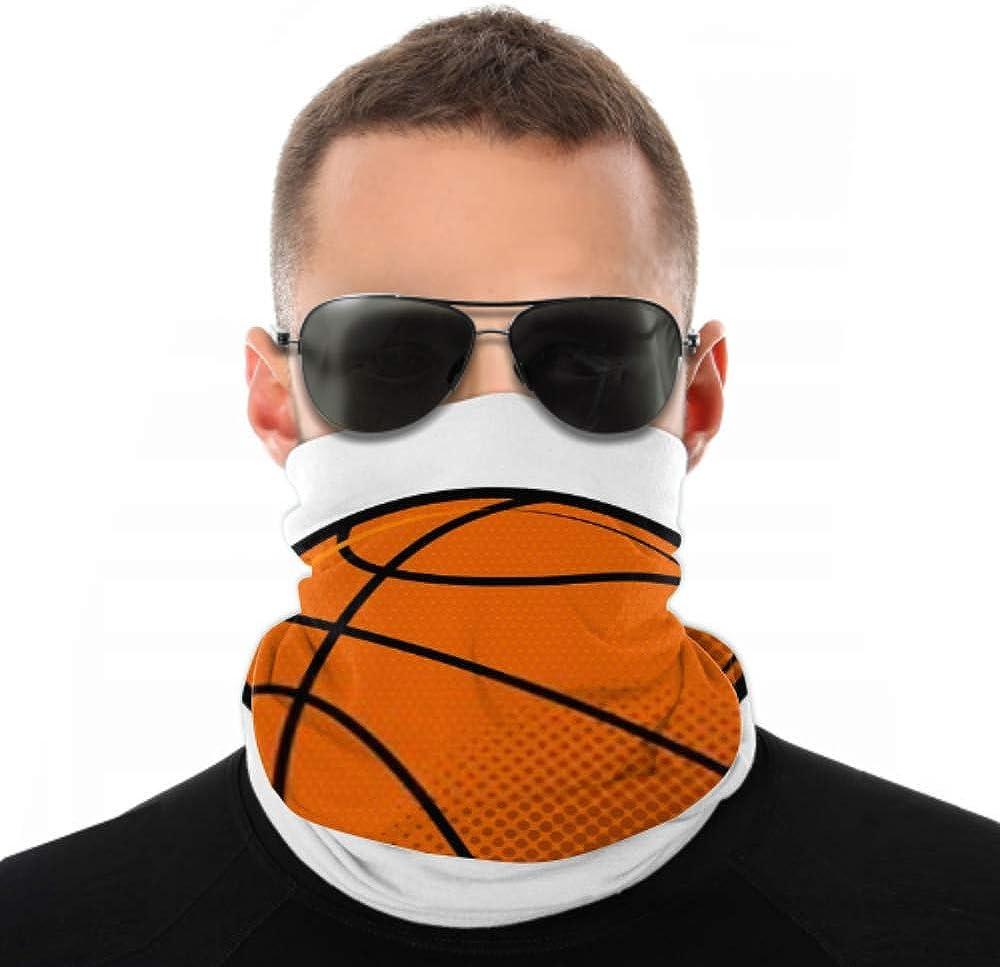 Headbands For Men Women Neck Gaiter, Face Mask, Headband, Scarf Basketball Ball Icon Vector Illustration Design Turban Multi Scarf Double Sided Print Womens Headbands For Sport Outdoor