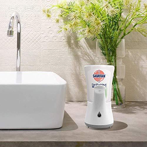 Sagrotan No-Touch Nachfüller Aloe Vera – Für den automatischen Seifenspender – 5 x 250 ml Handseife im praktischen Vorteilspack - 6