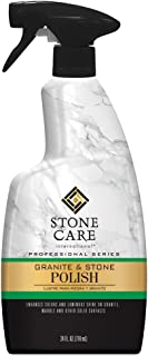 Stone Care International Granite Stone Polish - 24 Ounce - for Granite Marble Soapstone Quartz Quartzite Slate Limestone Corian Laminate Tile Countertop