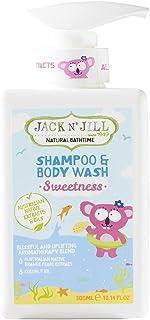 Jack N' Jill Sweetness Shampoo and Body Wash 300 ml , 300 milliliters