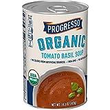 Progresso Soups Organic Tomato Basil Soup Can, 14.3 oz