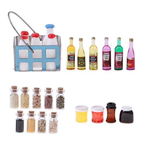 1:12 Casa delle Bambole Miniatura Cucina Alimentari Cibo stanze Accessori