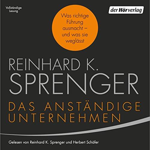 Das anständige Unternehmen audiobook cover art