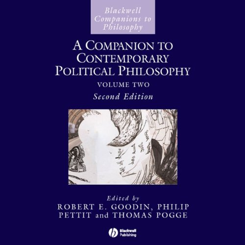 A Companion to Contemporary Political Philosophy audiobook cover art