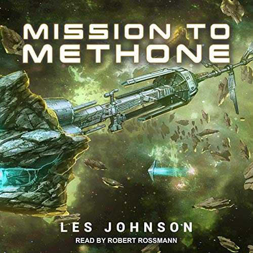 Mission to Methone audiobook cover art