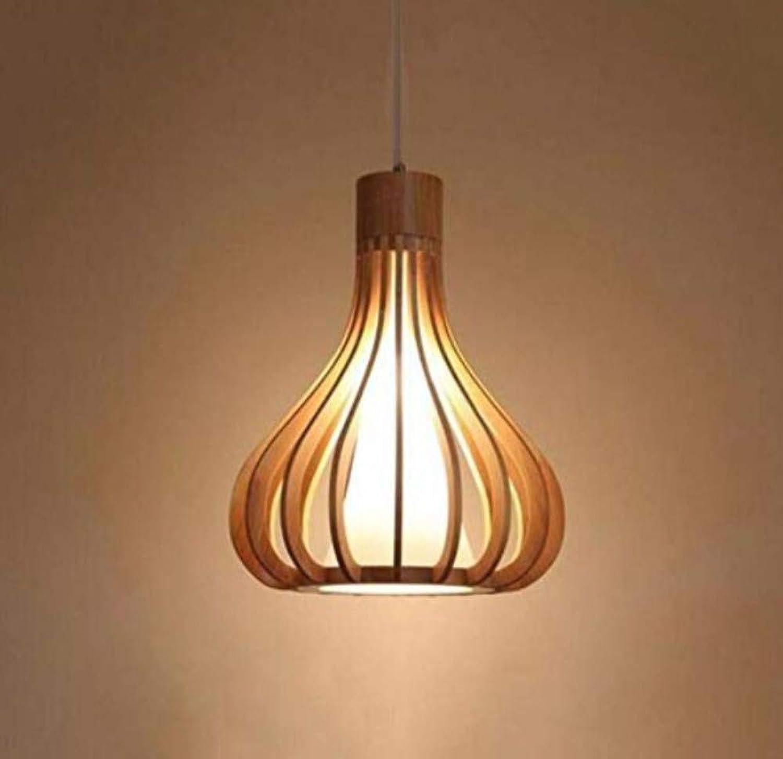 Leuchtereinfache Wohnzimmer Schlafzimmer Massivholz Kronleuchter Edison E27 Bar Restaurant Droplight