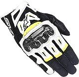 Alpinestars SMX-2 Air Carbon V2 Glove Nero Bianco Giallo Fluo M