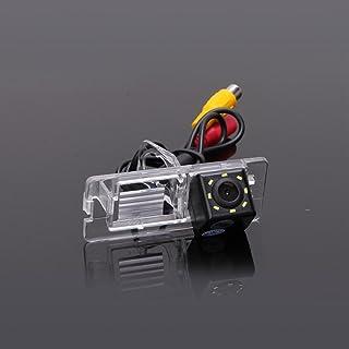 Dynavsal Auto Rückfahrkamera mit Distanzlinien in Kennzeichenleuchte für Renault Fluence/Duster Latitude Scenic2/3 Megane 2 Megane 3 /Cabrio/Clio 3 / Terrano/Lutecia/Espace 4
