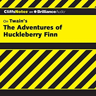 The Adventures of Huckleberry Finn     CliffsNotes              Written by:                                                                                                                                 Robert Bruce Ph.D.                               Narrated by:                                                                                                                                 Nick Podehl                      Length: 2 hrs and 52 mins     Not rated yet     Overall 0.0