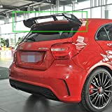 MADAENMJ ABS Car Rear Spoiler Portellone Spoiler Tetto Portellone Posteriore Parabrezza Ala per Mercedes Benz Classe A W176 A45 A180 A200 A250 Amg 5 Porte Hatchback 2013-2018