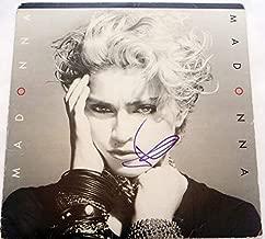 MADONNA - Madonna AUTOGRAPH Signed Record Album