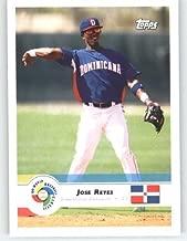 2009 Topps World Baseball Classic # 27 Jose Reyes - Dominican Republic - New York Mets - WBC Trading Card