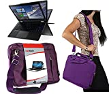 Navitech Lilae Prime Laptop/Notebook/Ultrabook Case/Tasche für das Lenovo IdeaPad MIIX 700 Business Edition Hybrid Tablet
