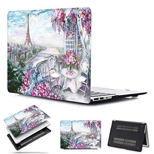 MacBook Air 13 inch 2020 2019 2018 Release A2179 A1932 PapyHall Pastoral Scenery Plastic Hard Case Only Compatible New MacBook Air 13 inch Retina with Touch ID Model: A1932 A2179 FJ-Romantic Paris