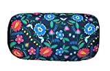Bookishbunny Micro Bead Bolster Tube Pillow Special Holiday Pattern - Squishy and Cool Fabric, Odorless Hypoallergenic 11.8 x 6 x 7 (Flower Pattern)
