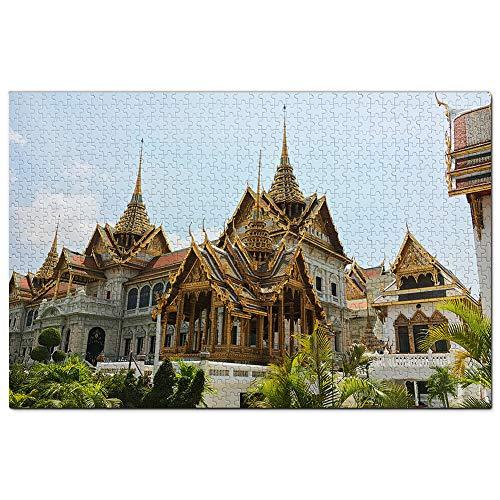 Thailandia Grand Palace Bangkok Puzzle 1000 Pezzi Adult Puzzle in Legno Gioco di Puzzle Souvenir Turismo Regalo