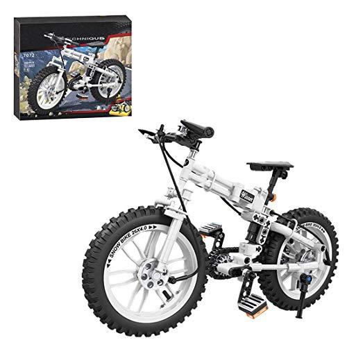 LINANNAN Kit de Bloques de construcción de Bicicletas Technic Plegable, 242 PCS Bloques de construcción Juguetes de construcción compatibles con Lego