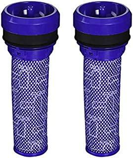 Surrgound Rinsable Pre Motor Filter Fit for Dyson DC39 Animal, Multi-Floor Canister Vacuum Cleaners,Part # 923413-01, 2pk