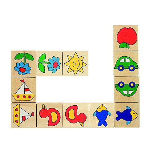 goki Dominiques Domino in Wooden Box by goki