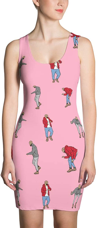 Babes & Gents Drake Hotline Bling Pattern Dress