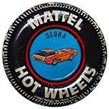 Brotherhood Vintage Gas Sign Reproduction Vintage Metal Signs Round Metal Tin Sign for Garage and Home 8 Inch Diameter – Hot Wheels Deora